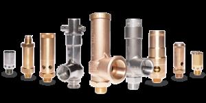 Safety relief valves Bestobell knightsedge