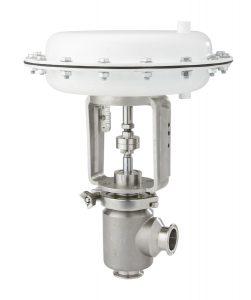 Sanitary control valve1